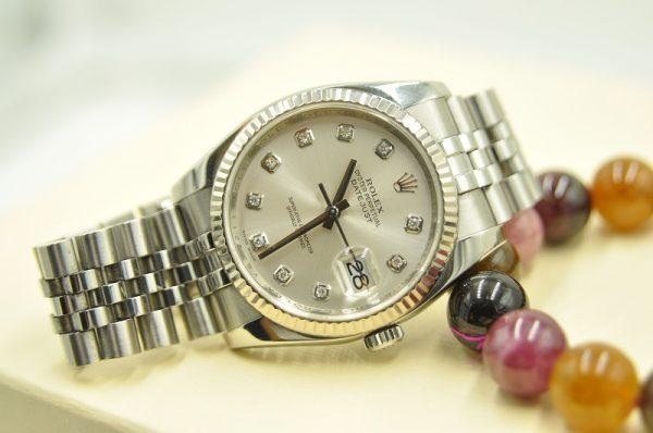 Đồng hồ Rolex 116234 Datejust Silver 10BR 36mm nguyên zin 100%