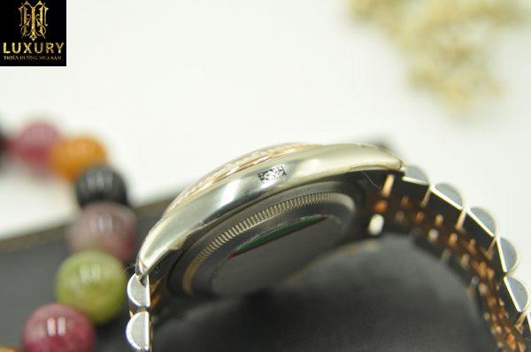 Đồng hồ Rolex Datejust 116231 đính kim cương demi vàng 18k