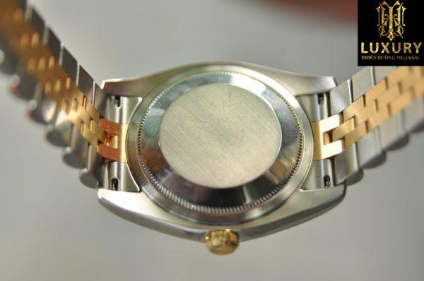 Đồng hồ Rolex Datejust 116233 vàng đúc 18k đính kim cương - HT Luxury
