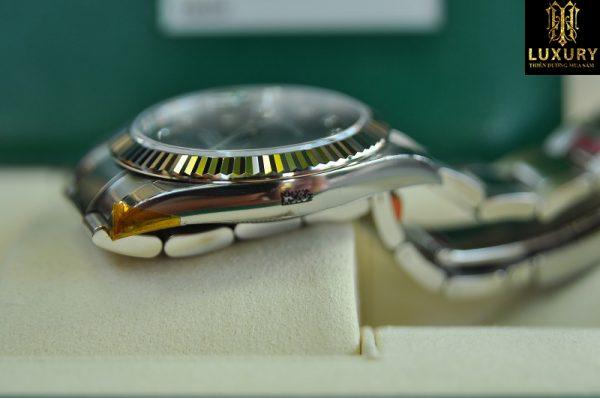 Đồng hồ Rolex Datejust 126334 dây thép mặt xanh Blue 41mm