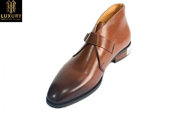 Giày cao cổ nam Hàn Quốc HT-9981 kiểu dáng trẻ trung - HT Luxury