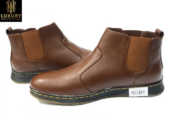 Giày Chelsea Boot HT-0095 - Mẫu giày Boot nam cổ lửng cực đẹp