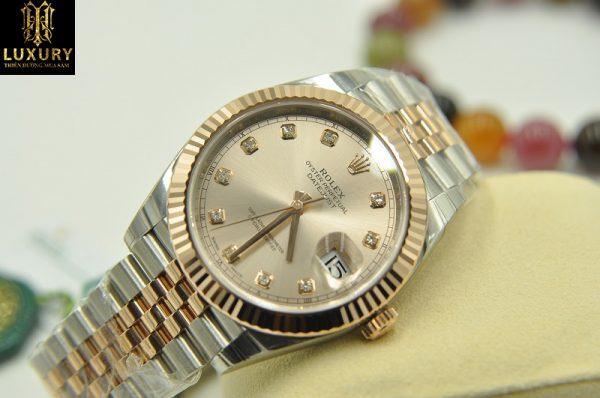 Đồng hồ Rolex Datejust II 126331 demi vàng 18k đính kim cương