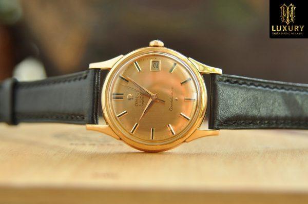 Đồng hồ Omega Constellation bát úp vàng hồng đúc 18k chính hãng