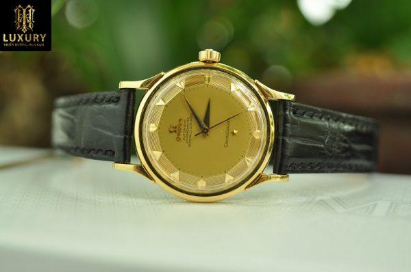 Đồng hồ Omega Constellation bát quái vàng đúc 18k nguyên zin