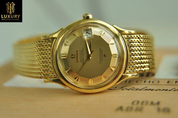 Đồng hồ Omega Constellation vàng đúc nguyên khối 18k cực đẹp