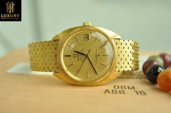 Đồng hồ Omega Constellation Automatic càng chữ H vàng 18k