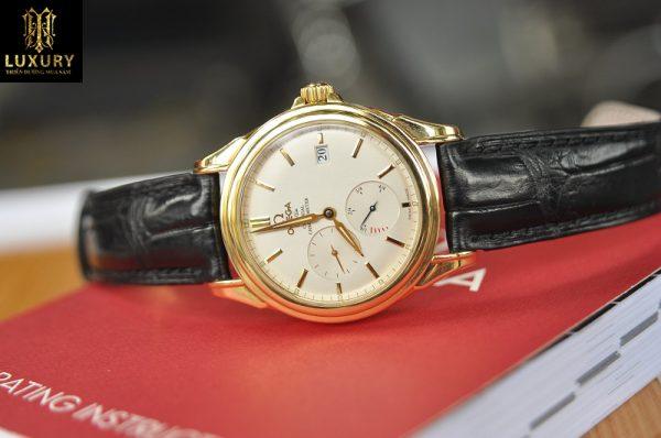 Đồng hồ Omega DeVille 4632.31.31 size 38,5mm vàng 18k