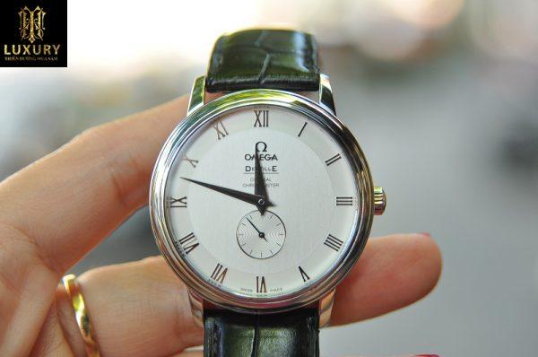 Đồng hồ Omega DeVille 4813.30.01 Prestige Co-Axial mặt size 39mm