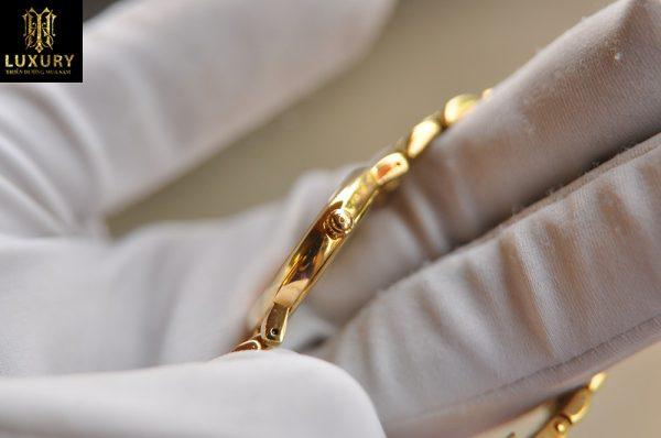 Đồng hồ Omega DeVille nữ vàng đúc 18k chính hãng Thụy Sĩ
