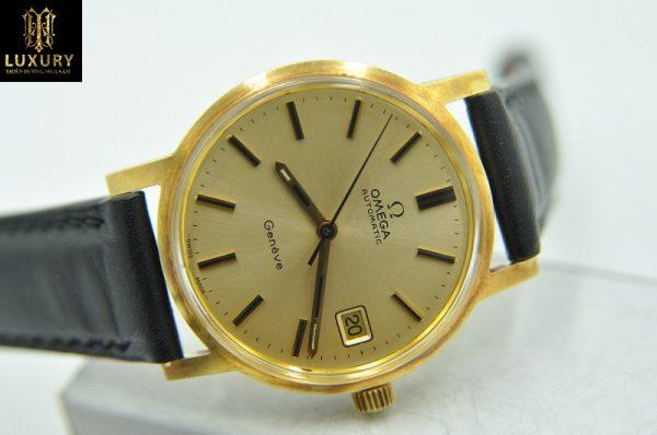 Đồng hồ Omega Geneve vàng đúc 18k chính hãng Thụy sỹ