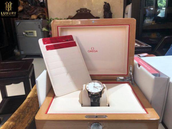 Đồng hồ Omega nam DeVille Co-Axial Chronometer vàng 18k