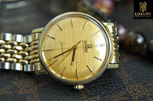 Đồng hồ Omega Seamaster mặt phên lụa chính hãng cực kỳ hiếm