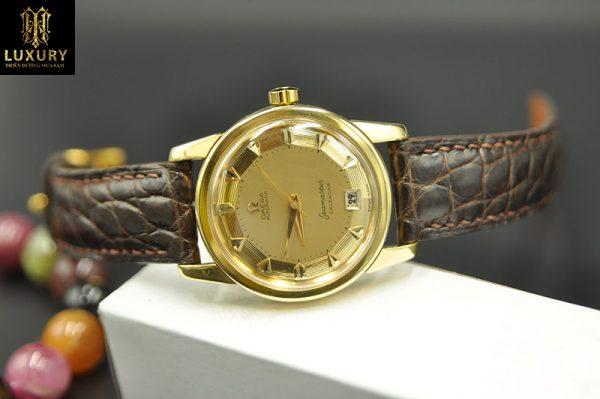 Đồng hồ Omega Seamaster Calendar bát quái vàng đúc 18k