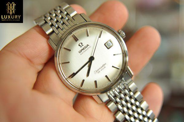 Đồng hồ Omega Seamaster Deville chính hãng nguyên zin Thụy Sĩ