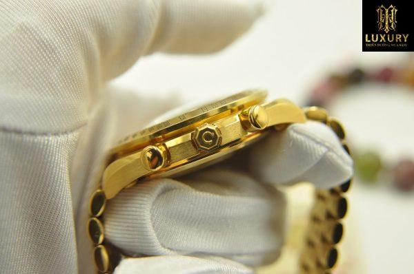 Đồng hồ Omega Speedmaster vàng đúc nguyên khối 18k - HT Luxury