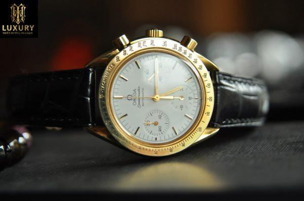 Đồng hồ Omega Speedmaster vàng 18k mặt cỡ size 39mm