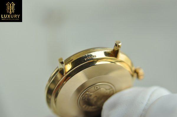 Đồng hồ Omega Seamaster Deville vàng đúc 14k mặt trơn