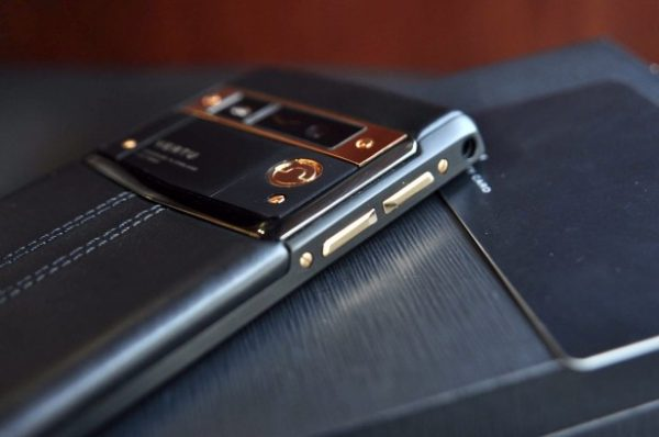 Điện thoại Vertu Signature Touch Pure Jet Red Gold 18k cảm ứng