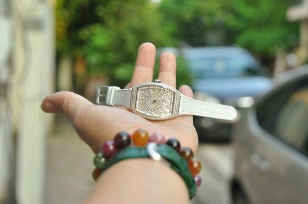 Đồng hồ Franck Muller nữ Vanguard V32 chính hãng Thụy Sĩ