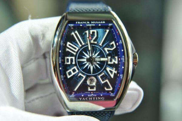 Đồng hồ Franck Muller Vanguard V41 Yachting Navy chính hãng