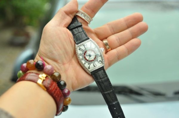 Đồng hồ Franck Muller Vegas Limited Edition 18k đính kim cương