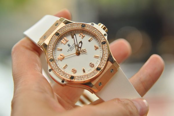 Đồng hồ Hublot Big Bang Rose Gold Diamond size 39 full box 2018