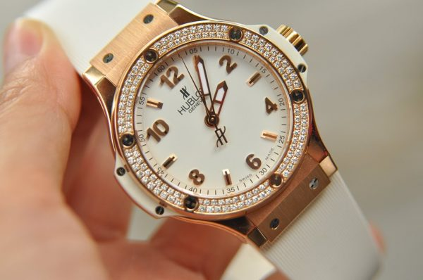 Đồng hồ Hublot Big Bang Rose Gold Diamond size 39 full box 2018