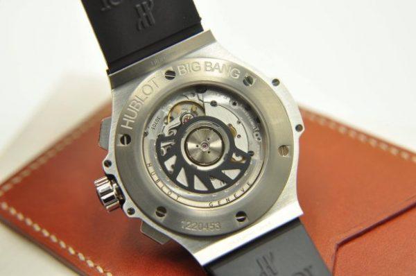 Đồng hồ Hublot Big Bang Chronograph Diamond size 41mm mặt đen