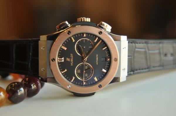 Đồng hồ Hublot Classic Fusion Chronograph vàng 18k size 42mm