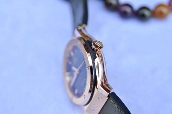 Đồng hồ Hublot Classic Fusion Green vàng 18k mới 100% size 42