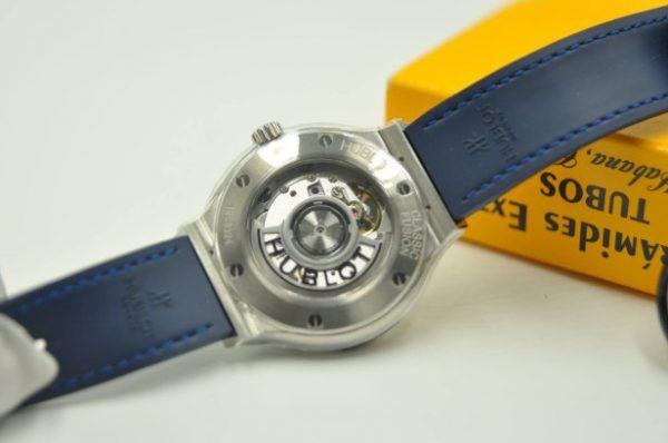 Đồng hồ Hublot Classic Fusion Titanium size 38mm mặt xanh Navy