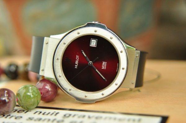 Đồng hồ Hublot MDM Geneve mặt đá thạch anh chính hãng Thụy sĩ