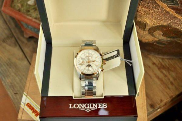 Đồng hồ Longines Conquest ClassicL2.798.5.72.7 mặt trăng sao cực đẹp