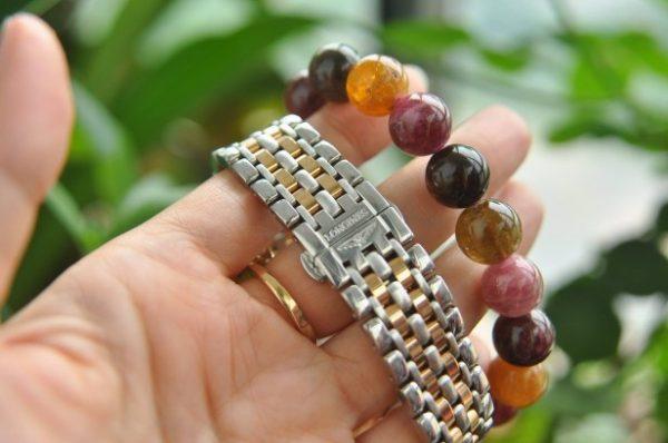 Đồng hồ Longines Elegant CollectionL48095877 mặt khảm đính kim cương