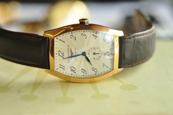 Đồng hồ Longines Evidenza L26428734 vàng hồng đúc 18k