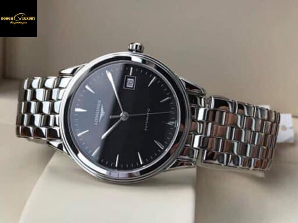Đồng hồ Longines Flagship Automatic Black Dial Men's Watch