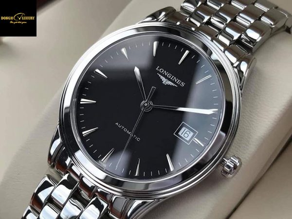 Đồng hồ Longines Flagship Automatic Black Dial Men's Watch