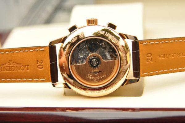 Đồng hồ Longines Heritage Collum Chronograph mặt size 40 mm