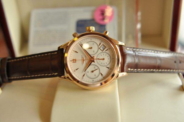 Đồng hồ Longines Heritage Automatic Chronograph L2.750.8.76.2 chính hãng Thụy Sĩ