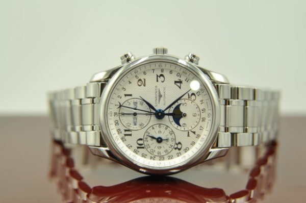 Đồng hồ Longines L2.673.4.78.6 Moonphase Chronograph Thụy Sĩ