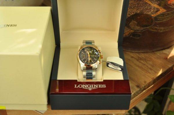 Đồng hồ Longines L2.798.5.52.7 mặt trăng sao chính hãng Thụy Sĩ