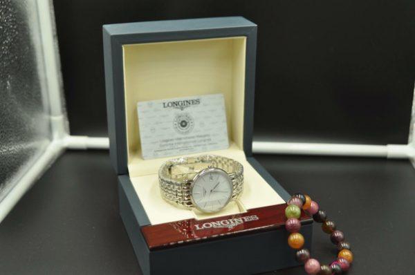 Đồng hồ Longines L4.790.4.12.6, 38,5mm quartz Thụy Sĩ