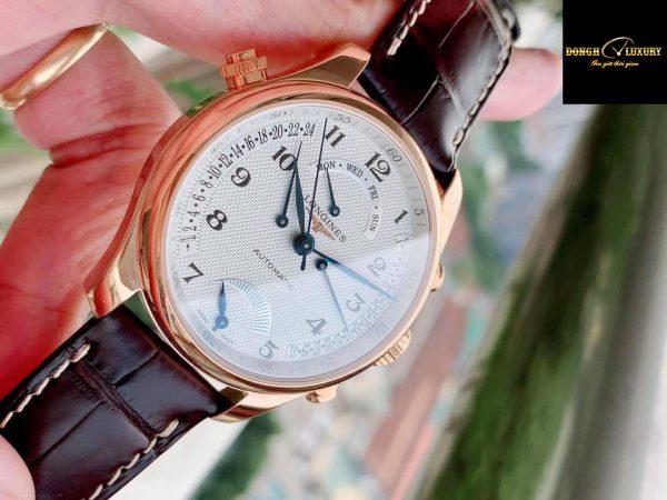 Đồng hồ Longines Master Collection vàng đúc 18k nguyên khối