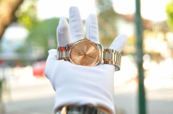 Đồng hồ Longines Master Collection Day DateL2.75.5.99.7 đính kim cương