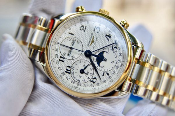 Đồng hồ Longines Master Collection Gents XL trăng sao L2.737.5.78.7 42MM