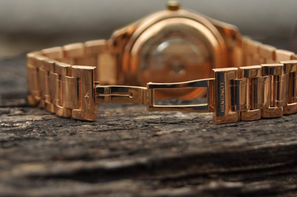 Đồng hồ Longines nam vàng đúc nguyên khối 18kL2.666.8.78.6