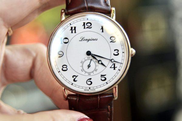 Đồng hồ Longines Presence AutomaticL47858732 vàng đúc 18k