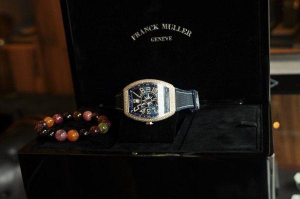 Đồng hồ nam Franck Muller Yachting V41 kim cương full box