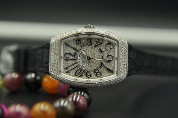 Đồng hồ Nữ Franck Muller Vanguard V32 full kim cương chính hãng